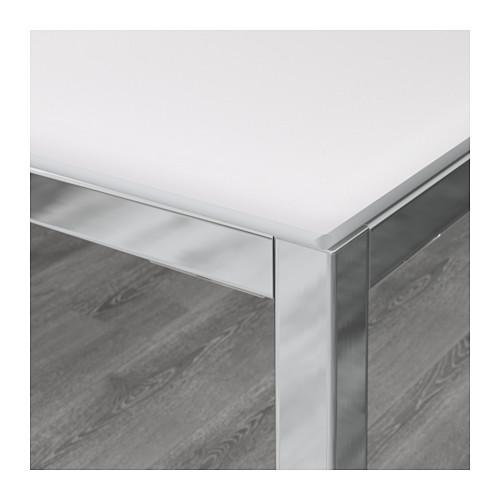 TORSBY/TOBIAS - table and 4 chairs, white/transparent | IKEA Hong Kong and Macau - PE594907_S4