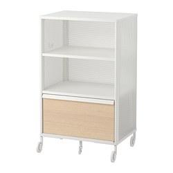 BEKANT - 貯物組合連智能鎖, 網狀 白色 | IKEA 香港及澳門 - PE702593_S3