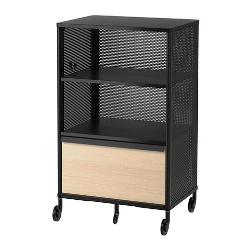 BEKANT - storage unit with smart lock, mesh black | IKEA Hong Kong and Macau - PE702592_S4