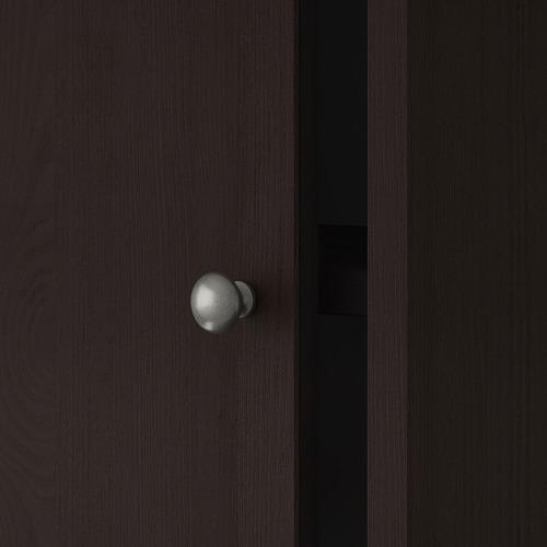 HAVSTA - storage comb w sliding glass doors, dark brown | IKEA Hong Kong and Macau - PE692299_S4