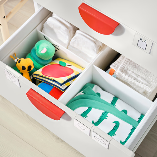 PLATSA/SMÅSTAD - bookcase, white white/with 3 drawers | IKEA Hong Kong and Macau - PE797229_S4