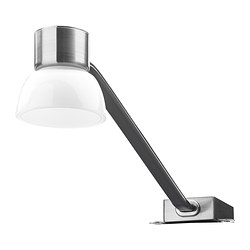 LINDSHULT - LED cabinet lighting, nickel-plated | IKEA Hong Kong and Macau - PE383617_S3