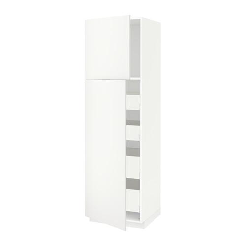 METOD/MAXIMERA hi cab w 2 doors/4 drawers