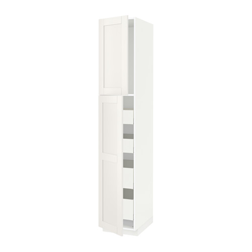 METOD/MAXIMERA - hi cab w 2 doors/4 drawers, white/Sävedal white | IKEA Hong Kong and Macau - PE529895_S4
