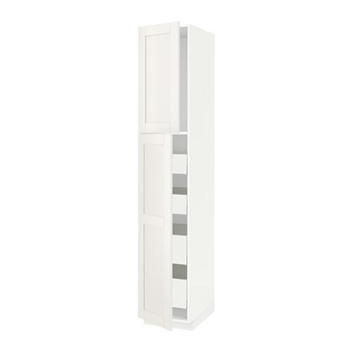 METOD/MAXIMERA - hi cab w 2 doors/4 drawers, white/Sävedal white | IKEA 香港及澳門 - PE529895_S4