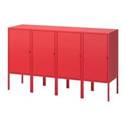 LIXHULT - 貯物組合, 紅色 | IKEA 香港及澳門 - PE702741_S3