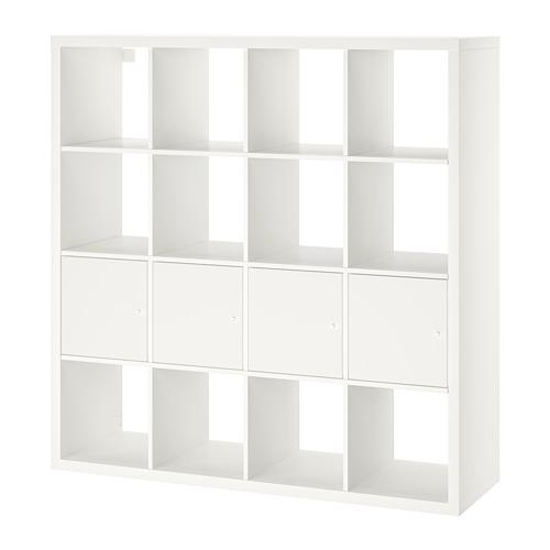 KALLAX - 層架組合連4個貯物格, 白色   IKEA 香港及澳門 - PE702802_S4