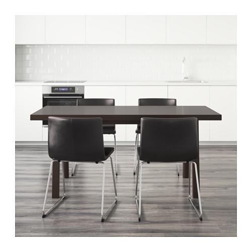 BERNHARD/VÄSTANBY/VÄSTANÅ table and 4 chairs