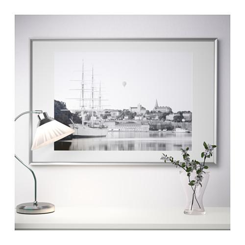 SILVERHÖJDEN - 畫框, 銀色 | IKEA 香港及澳門 - PE595191_S4
