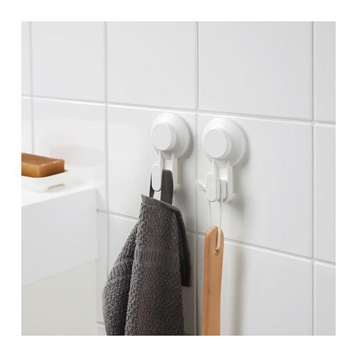 TISKEN - 吸盤掛鈎, 白色   IKEA 香港及澳門 - PE702868_S4