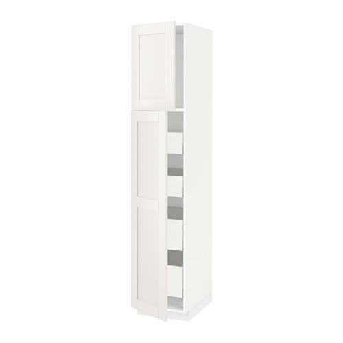 METOD/MAXIMERA - hi cab w 2 doors/4 drawers, white/Sävedal white | IKEA Hong Kong and Macau - PE530002_S4