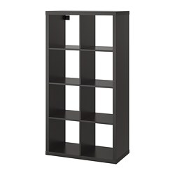 KALLAX - shelving unit, black-brown | IKEA Hong Kong and Macau - PE702938_S3