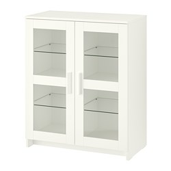 BRIMNES - cabinet with doors, glass/white | IKEA Hong Kong and Macau - PE702960_S3