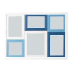 HÄGGNÄS - 相框, 白色/藍色 | IKEA 香港及澳門 - PE743362_S3