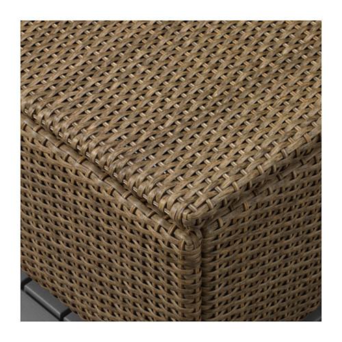 SOLLERÖN - stool, outdoor, brown | IKEA Hong Kong and Macau - PE655180_S4