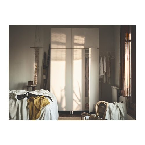 PLATSA - wardrobe, white/Fonnes white | IKEA Hong Kong and Macau - PH149500_S4