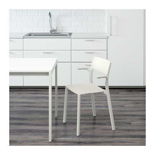 JANINGE - chair with armrests, white | IKEA Hong Kong and Macau - PE595415_S4