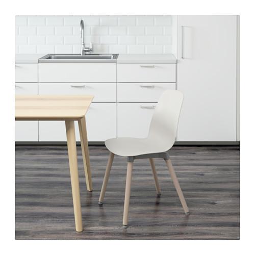 LEIFARNE - 椅子, 白色/Ernfrid 樺木 | IKEA 香港及澳門 - PE595425_S4