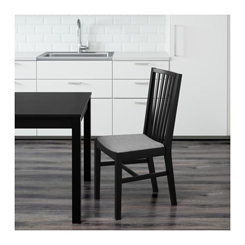 NORRNÄS - 椅子, 黑色/Isunda 灰色   IKEA 香港及澳門 - PE595437_S4