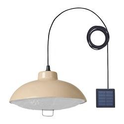 SOLVINDEN - 太陽能LED吊燈, 戶外/米黃色 | IKEA 香港及澳門 - PE797507_S3