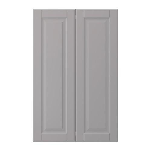 BODBYN - 2-p door f corner base cabinet set, grey   IKEA Hong Kong and Macau - PE703162_S4