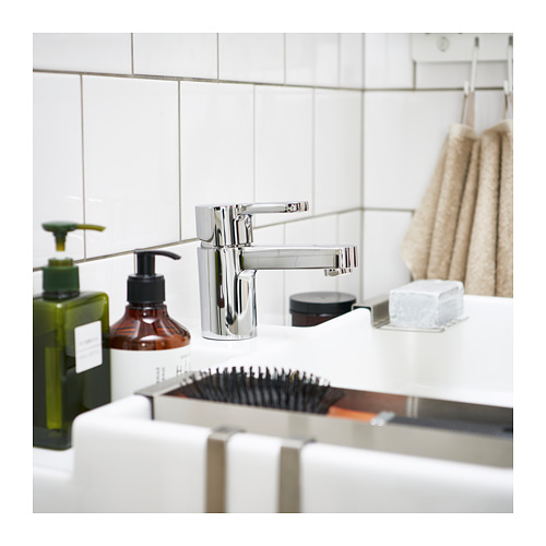 ENSEN - wash-basin mixer tap with strainer, chrome-plated | IKEA Hong Kong and Macau - PH148802_S4