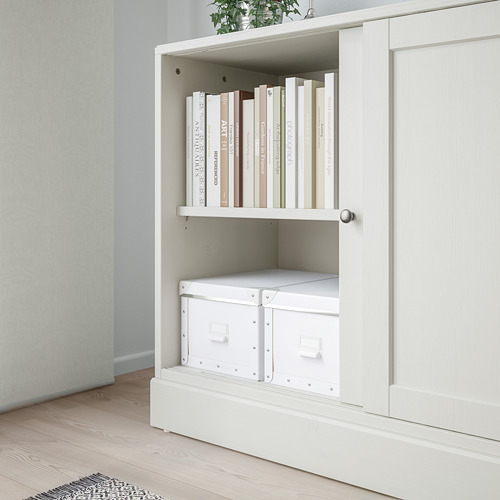HAVSTA - cabinet with plinth, white | IKEA Hong Kong and Macau - PE743517_S4
