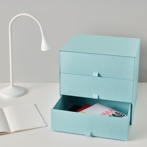 PALLRA 三格抽屜小型貯物箱