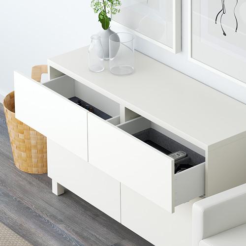 BESTÅ - storage combination w doors/drawers, Lappviken white | IKEA Hong Kong and Macau - PE591420_S4