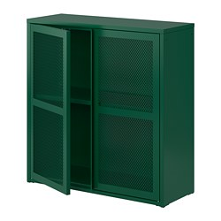 IVAR - cabinet with doors, green mesh | IKEA Hong Kong and Macau - PE797528_S3
