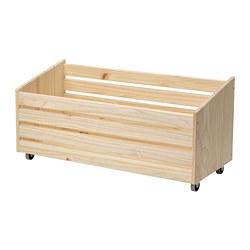 IVAR - 貯物箱連活輪, 松木   IKEA 香港及澳門 - PE797533_S3