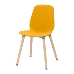 LEIFARNE - chair, dark yellow/Ernfrid birch | IKEA Hong Kong and Macau - PE743594_S3