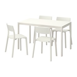 MELLTORP/JANINGE - 一檯四椅, 白色/白色 | IKEA 香港及澳門 - PE595634_S3