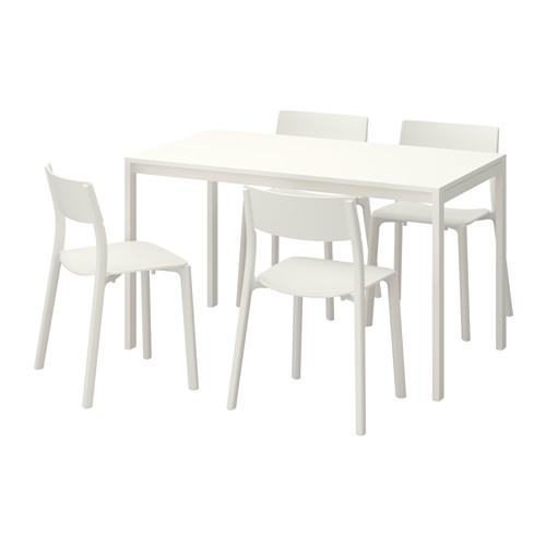 MELLTORP/JANINGE 一檯四椅