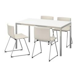 TORSBY/BERNHARD - table and 4 chairs, high-gloss white/Kavat white | IKEA Hong Kong and Macau - PE595671_S3
