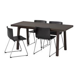 BERNHARD/VÄSTANBY/VÄSTANÅ - table and 4 chairs, dark brown/Kavat dark brown | IKEA Hong Kong and Macau - PE595659_S3