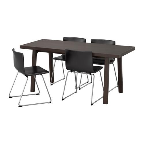 BERNHARD/VÄSTANBY/VÄSTANÅ 一檯四椅