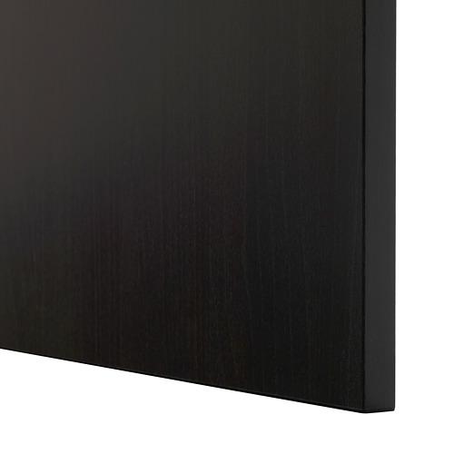BESTÅ - 電視貯物組合/玻璃門, black-brown/Lappviken black-brown clear glass | IKEA 香港及澳門 - PE535510_S4
