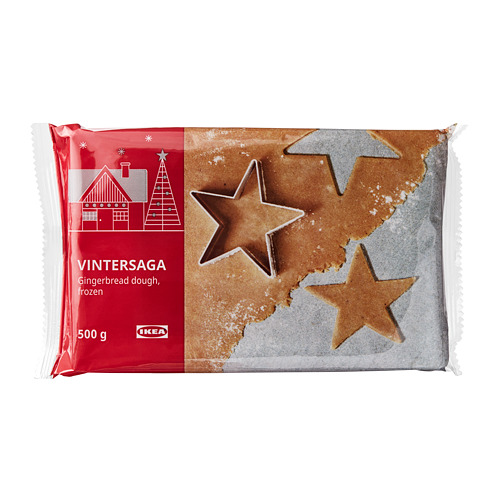VINTERSAGA gingerbread dough