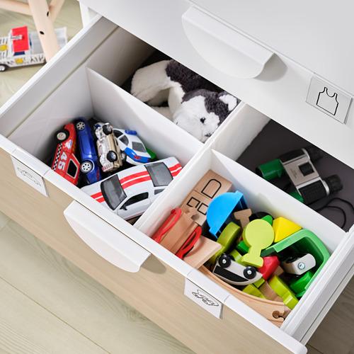 PLATSA/SMÅSTAD - chest of 6 drawers, white/birch | IKEA Hong Kong and Macau - PE797628_S4