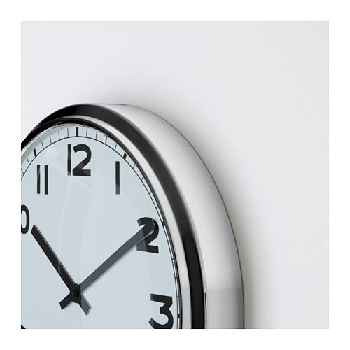 PUGG - wall clock, stainless steel | IKEA Hong Kong and Macau - PE595777_S4