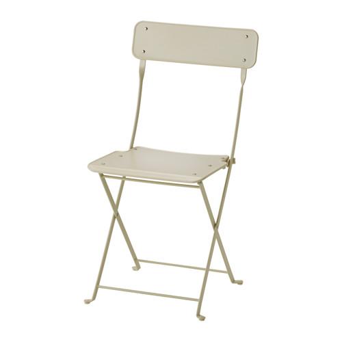 SALTHOLMEN - chair, outdoor, foldable beige | IKEA Hong Kong and Macau - PE595804_S4