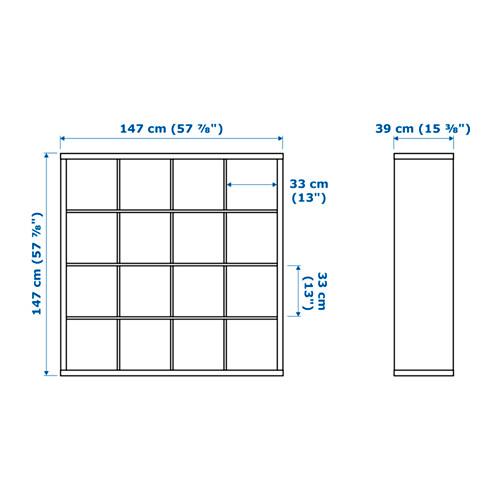 KALLAX - 層架組合, 白色 | IKEA 香港及澳門 - PE655508_S4