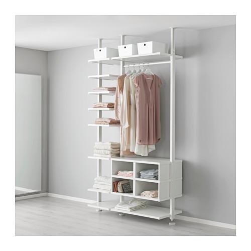 ELVARLI - 側柱, 白色   IKEA 香港及澳門 - PE595915_S4