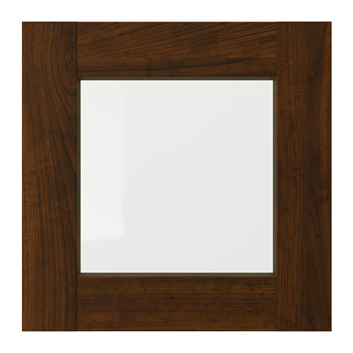 EDSERUM - glass door, wood effect brown | IKEA Hong Kong and Macau - PE703726_S4
