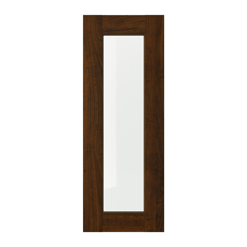 EDSERUM - glass door, wood effect brown | IKEA Hong Kong and Macau - PE703727_S4
