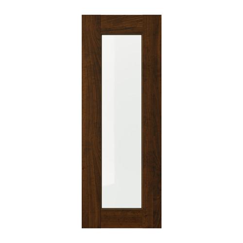 EDSERUM - 玻璃門, 木紋 褐色 | IKEA 香港及澳門 - PE703727_S4