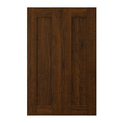EDSERUM - 2-p door f corner base cabinet set, wood effect brown | IKEA Hong Kong and Macau - PE703729_S3