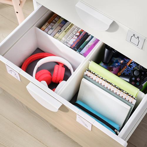 PLATSA/SMÅSTAD - chest of 6 drawers, white/birch | IKEA Hong Kong and Macau - PE797761_S4