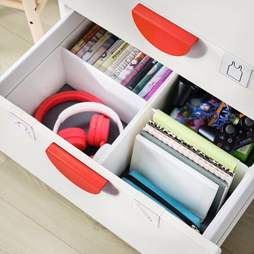 PLATSA/SMÅSTAD - bookcase, white white/with 3 drawers | IKEA Hong Kong and Macau - PE797759_S4